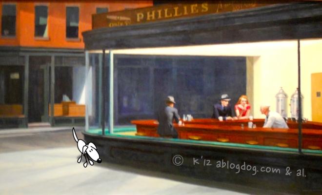 Nighthawks. 1942 Hopper. AIC.