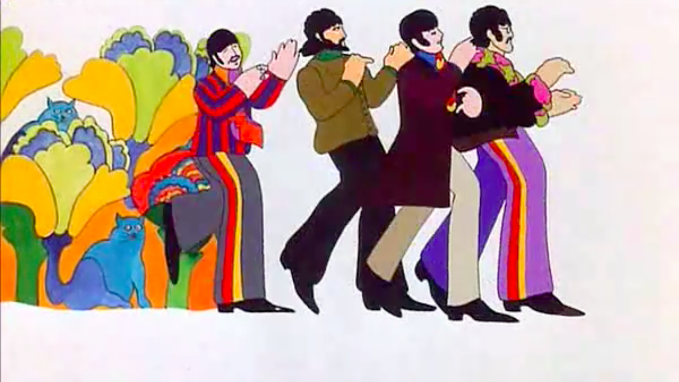 The Beatles Hey Bulldog All Together Now Its All Too Much